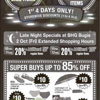 Read more about BHG 20% Off Storewide Super Sale 1 - 4 Oct 2015