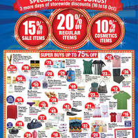 Read more about BHG 20% Off Storewide Super Sale 16 - 18 Oct 2015
