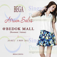 Read more about Bega Atrium Sale @ Bedok Mall 28 Oct - 3 Nov 2015