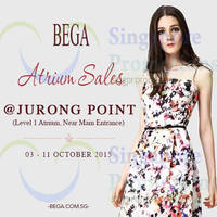 Read more about Bega Atrium Sale @ Jurong Point 3 - 11 Oct 2015
