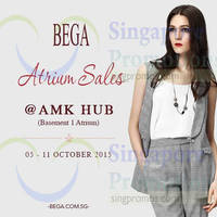 Read more about Bega Atrium Sale @ AMK Hub 6 - 11 Oct 2015