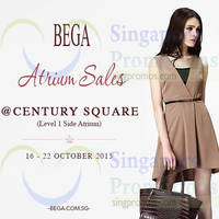 Read more about Bega Atrium Sale @ Century Square 16 - 22 Oct 2015