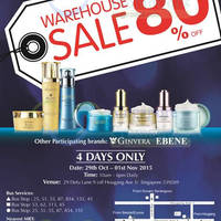 Read more about Bio-Essence, Ebene & Ginvera Warehouse SALE 29 Oct - 1 Nov 2015