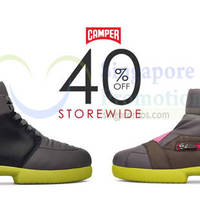 Camper 40% Off Shoes Storewide Promotion From 4 Oct 2015