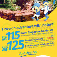 Read more about Cebu Pacific fr $115 Promo Fares 29 - 30 Oct 2015