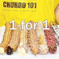 Churro101 1-for-1 Churros 1-Day Promo @ Bugis+ 12 Oct 2015