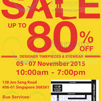 Read more about City Chain & Optical 88 Warehouse Sale 5 - 7 Nov 2015