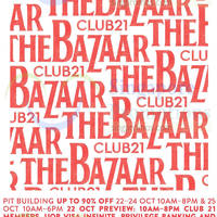 Read more about Club 21 Bazaar SALE @ Pit Building 22 - 25 Oct 2015