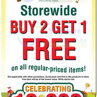 Read more about The Cocoa Trees Buy 3 Get 1 Free Storewide Promo 6 Nov 2015 - 3 Jan 2016