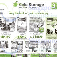 Read more about Cold Storage Milk Powder Offers 3 - 4 Oct 2015