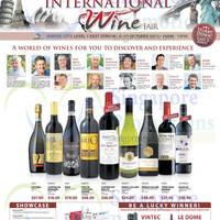 Cold Storage International Wine Fair @ Suntec City Mall 6 - 11 Oct 2015