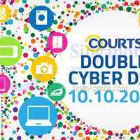 Read more about Courts Deals fr $10 Double Cyber Day 10 Oct 2015