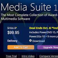 Read more about CyberLink Media Suite 13 Ultimate 45% OFF Promotion 2 - 6 Oct 2015