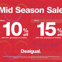 Read more about Desigual Mid-Season Sale @ IMM 19 Oct - 4 Nov 2015
