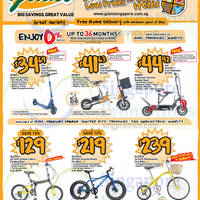 Giant Hypermarket Tefal Kitchenware, Aleoca Bicycles & Mobot E-Scooter Offers 9 - 22 Oct 2015
