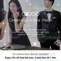 Read more about G2000 15% Off For Citibank Cardmembers 30 Oct - 1 Nov 2015