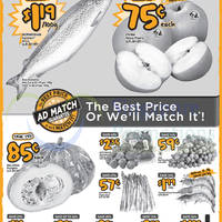 "Read more about Giant Salmon $1.19 per 100g & Other ""Dare to Compare"" Offers 15 - 21 Oct 2015"