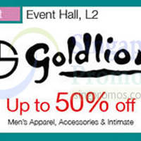 Goldlion Promotion @ Isetan Tampines 7 - 13 Oct 2015