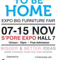 Read more about Good to Be Home Expo Big Furniture Fair @ Expo 7 - 15 Nov 2015