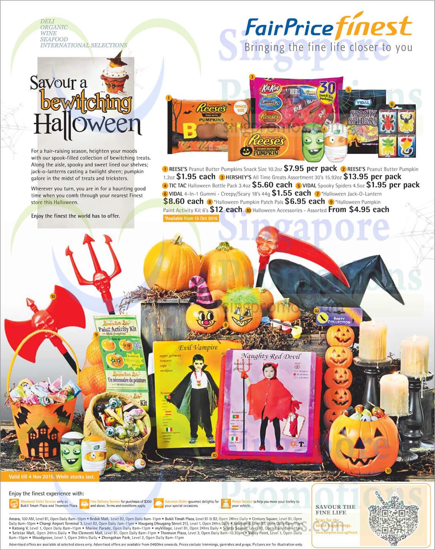 Halloween Pumpkins, Snacks, Chocolates