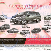 Read more about Honda Odyssey, Mobilio, HR-V, Accord, 2015 CR-V, Civic, City & Jazz Offers 10 Oct 2015