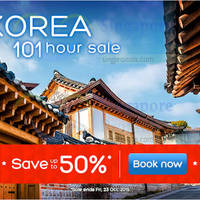 Read more about Hotels.Com Up To 50% Off Korea 101 Hour Sale 20 - 23 Oct 2015