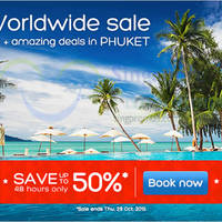 Read more about Hotels.com Up To 50% Off 48hr Worldwide Sale 28 - 29 Oct 2015