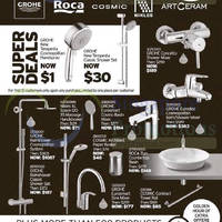 Read more about Interior Affairs Grohe, Roca, Cosmic & More Bathroom Clearance Sale 3 - 4 Oct 2015