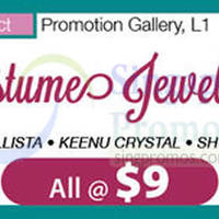 Isetan Costumes Jewellery Promotion @ Nex 13 - 21 Oct 2015