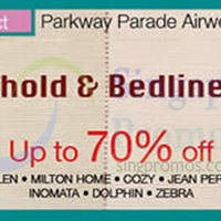Read more about Isetan Household & Bedlinen Sale @ Parkway Parade 12 - 18 Oct 2015