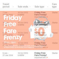 Read more about Jetstar fr $0 Promo Fares Valid Till 6pm 16 Oct 2015