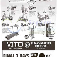 Read more about Kettler Home Fitness Gym Equipment Offers @ Paragon 3 Oct 2015