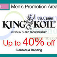 King Koil Promotion @ Parkway Parade 7 - 13 Oct 2015