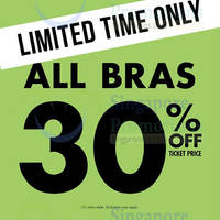 Read more about La Senza 30% Off Bras Storewide 3 - 4 Oct 2015