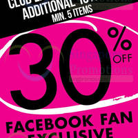Read more about La Senza 30% Off Storewide Promotion 9 - 10 Oct 2015