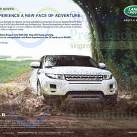 Land Rover Range Rover Evoque Offer 10 Oct 2015