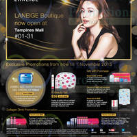 Read more about Laneige New Boutique Opening Promotions @ Tampines Mall 27 Oct - 1 Nov 2015