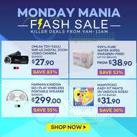 Lazada Monday Mania 15hr Special Offers 5 Oct 2015