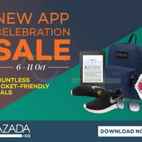 Lazada New App Celebration Sale 7 - 11 Oct 2015