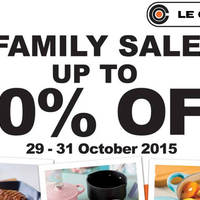 Read more about Le Creuset Family Sale 29 - 30 Oct 2015