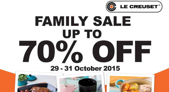 Le Creuset Feat 25 Oct 2015