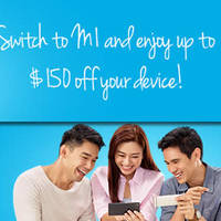 Read more about M1 $100 to $150 Off Phone For Switching Customers From 15 Oct 2015