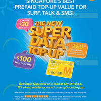 Read more about M1 mCard New $30 Super Data Top-Up From 21 Oct 2015
