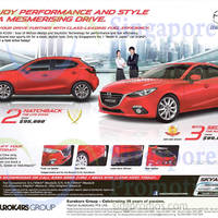 Read more about Mazda 2 Hatchback & Mazda 3 Sedan Offers 10 Oct 2015