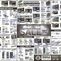Mega Discount Store TVs, Washers, Hobs & Other Appliances Offers 10 Oct 2015