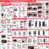 Read more about Mega Discount Store TVs, Washers, Hobs & Other Appliances Offers 18 Oct 2015
