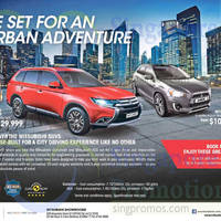 Mitsubishi Outlander & ASX SUVs Offers 10 Oct 2015