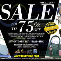 Read more about Nimeshop Branded Handbags Sale @ Mandarin Orchard 24 Oct 2015