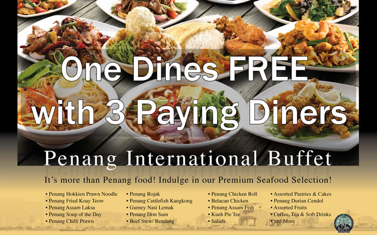 Penang St Buffet Feat 13 Oct 2015