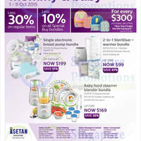 Read more about Philips Avent Promotion @ Isetan 2 - 11 Oct 2015